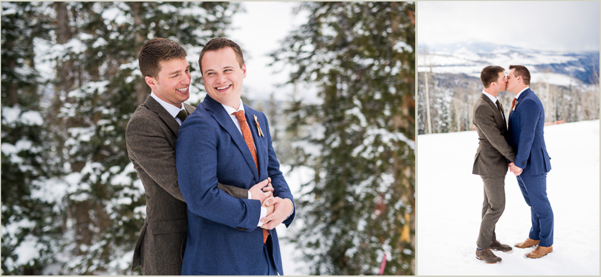 Winter Wedding at Telluride Ski Resort Gorrono Ranch