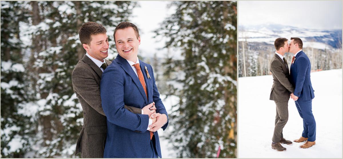 Winter Wedding at Telluride Ski Resort Gorrono Ranch