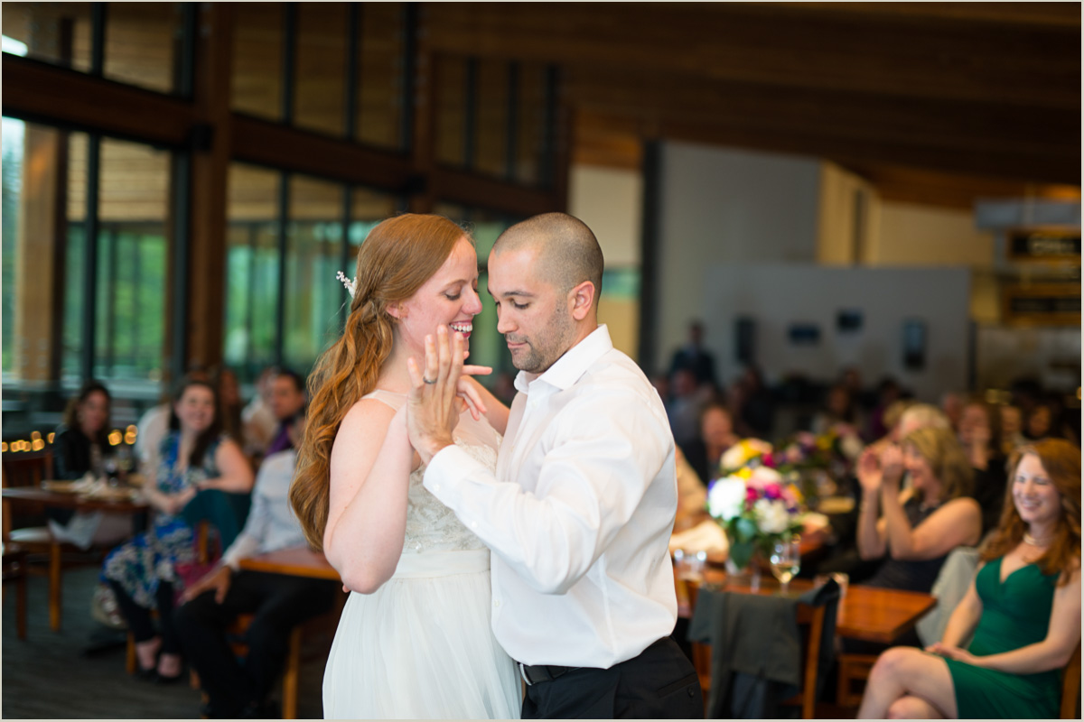 Bride and Groom Latin Inspired First Dance
