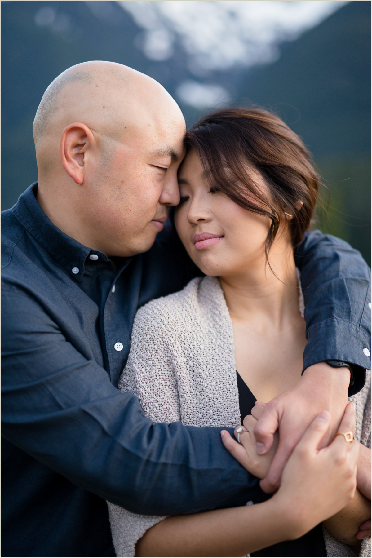 Diablo Lake Overlook Engagement Photos