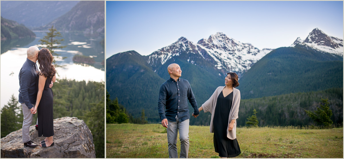 Engagement Photos at Diablo Lake
