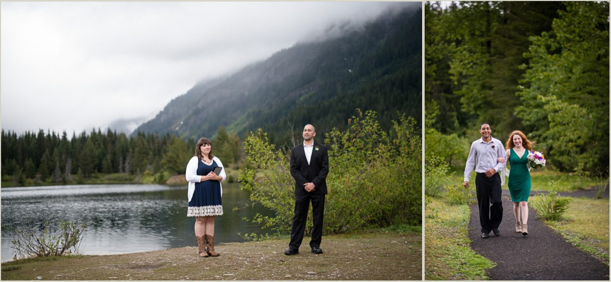 Gold Creek Pond Wedding