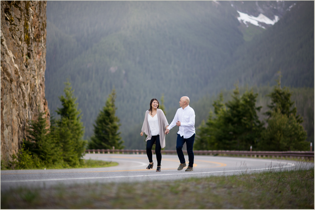 North Cascades Highway 20 Engagement Session