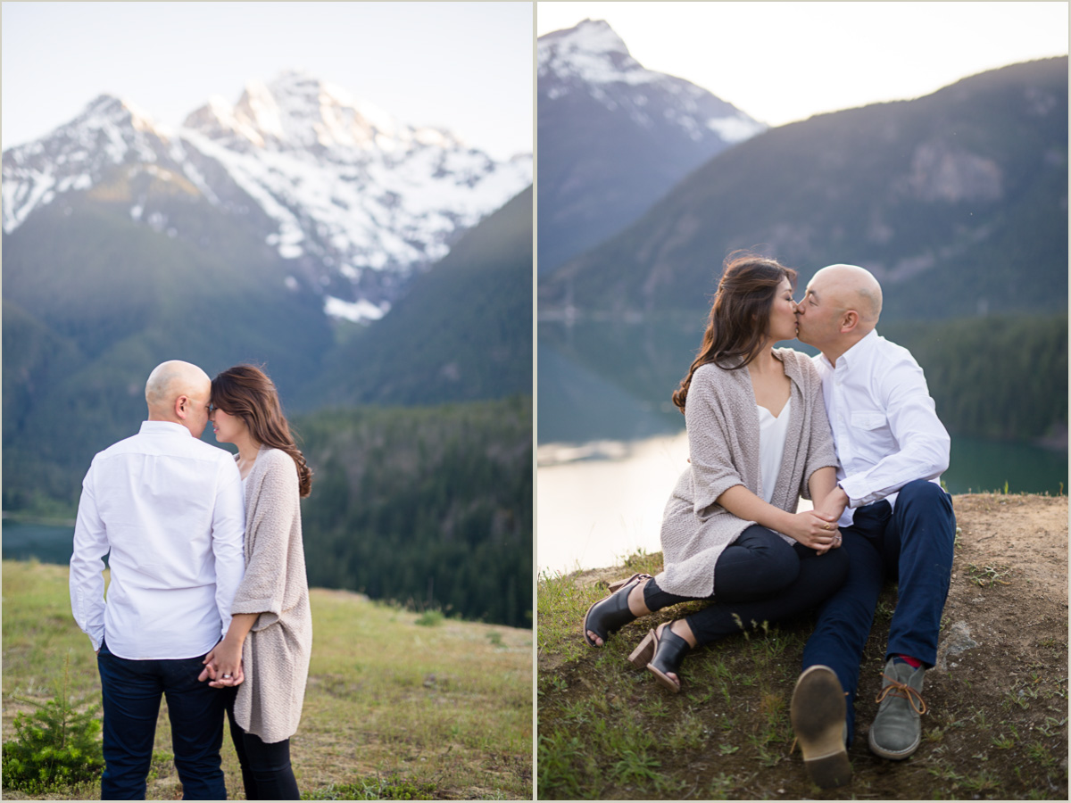 North Cascades National Park Engagement Photos