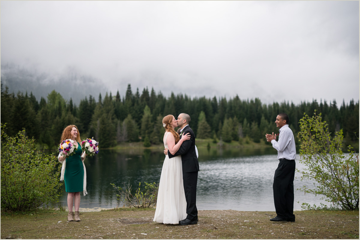 Seattle Wedding in the Mountains