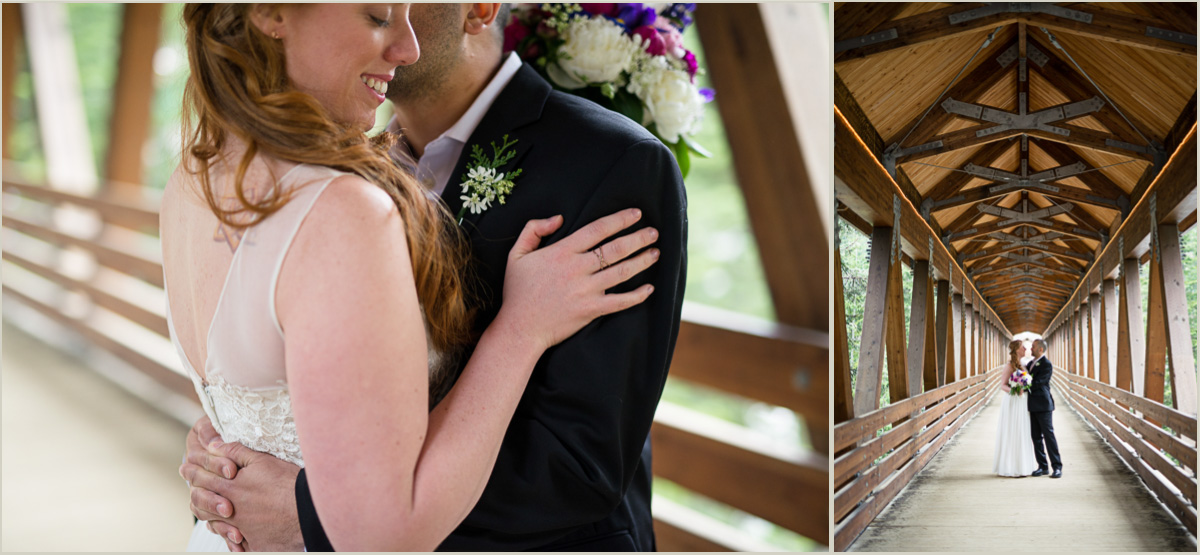 Wedding Photos at Alpental Bridge