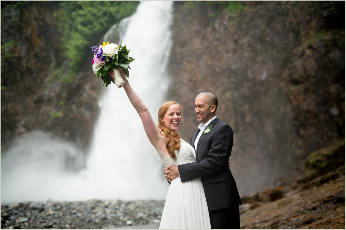 Wedding Photos at Franklin Falls