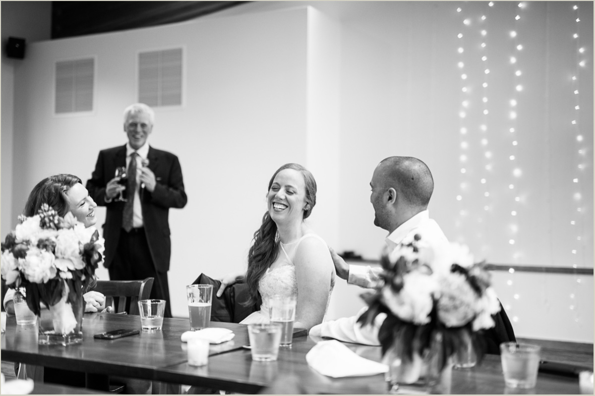 Wedding Speeches at Silver Fur Lodge
