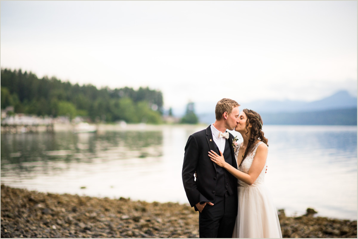 Hood Canal Wedding in Poulsbo