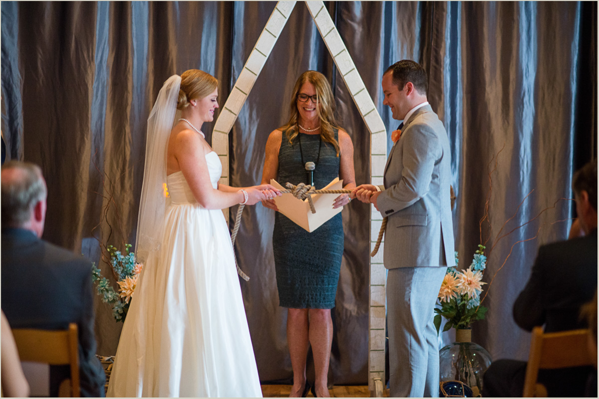 Nautical Wedding Rope Tying Ceremony