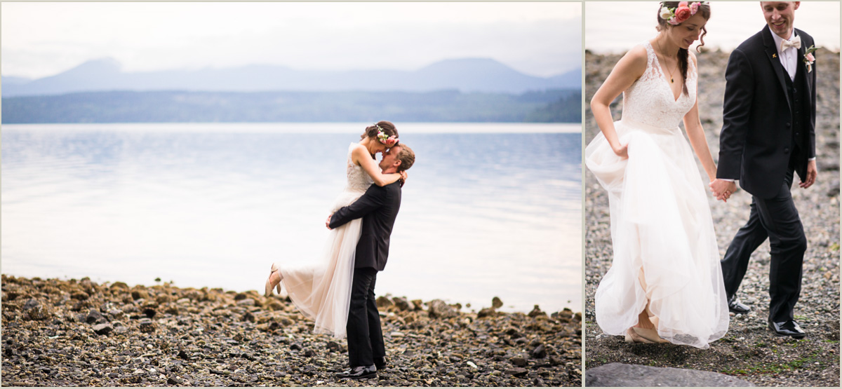 Romantic Photos of the Bride and Groom