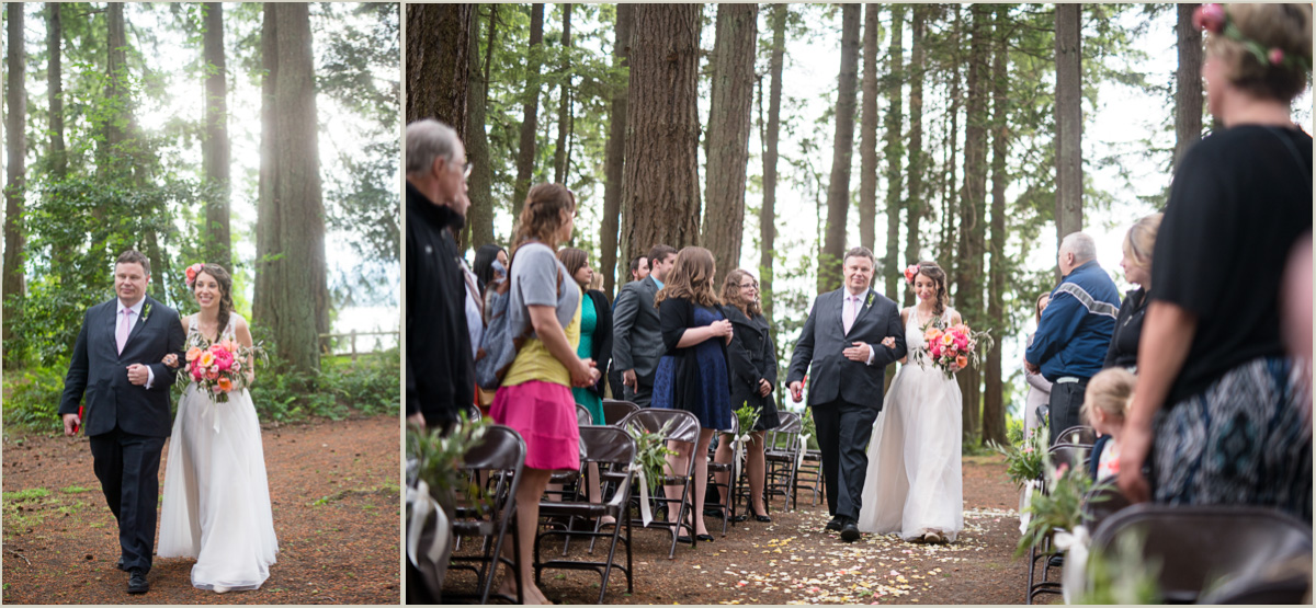 Spring Wedding at a Washington State Park