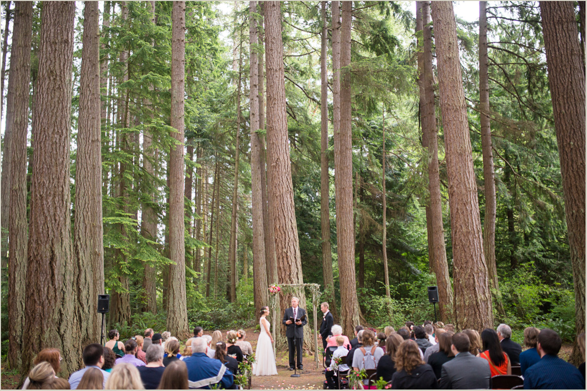 State Park Wedding Ceremony