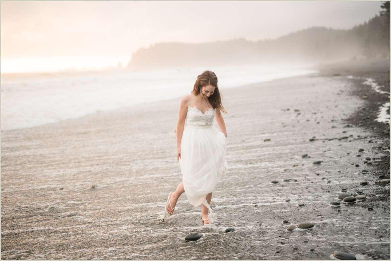 bride-walking-on-the-beach-elopement-photos