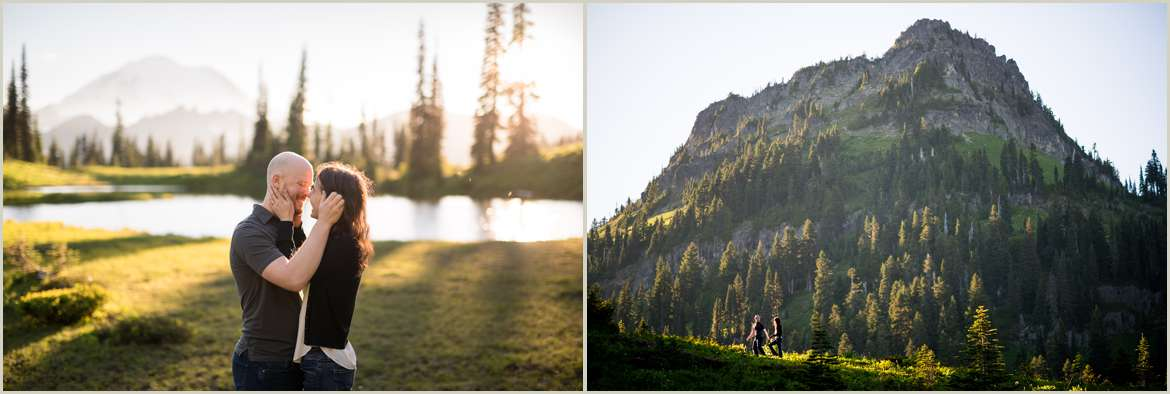 engagement-photos-with-a-view-of-mount-rainier