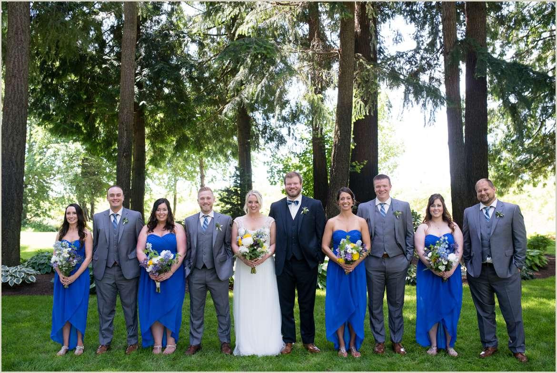royal-blue-wildflower-wedding-party