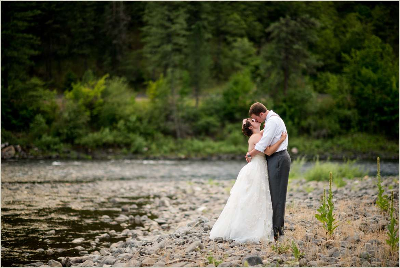 Outdoor Idaho Wedding Photographers
