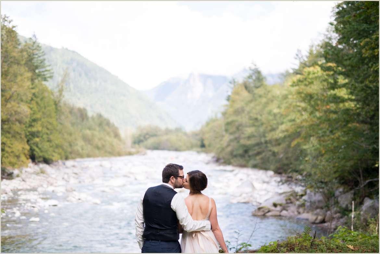 adventurous wedding in index