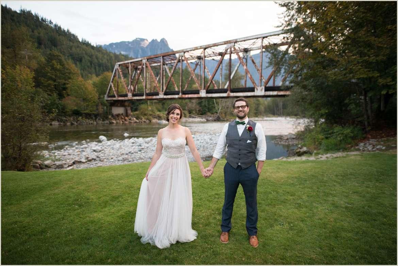 adventurous wedding in the north cascades