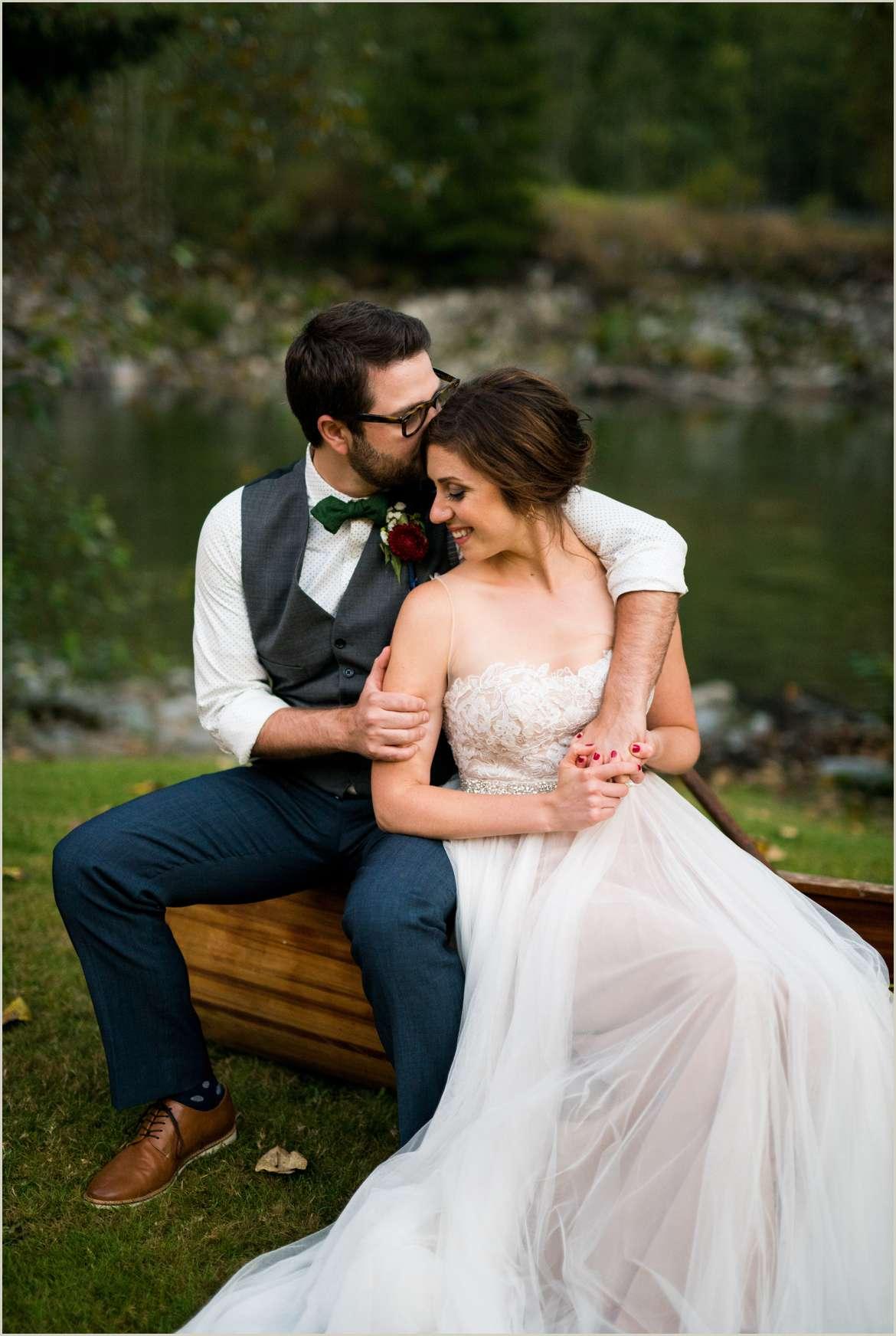 blue hour wedding day photos