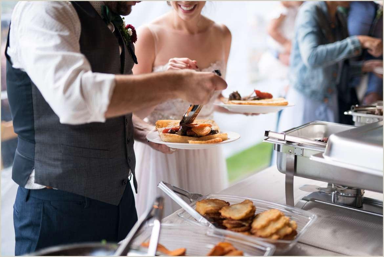 don luchos wedding buffet puruvian sandwiches