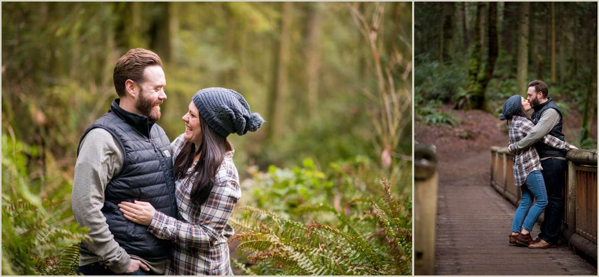 engagement photos on bainbridge island