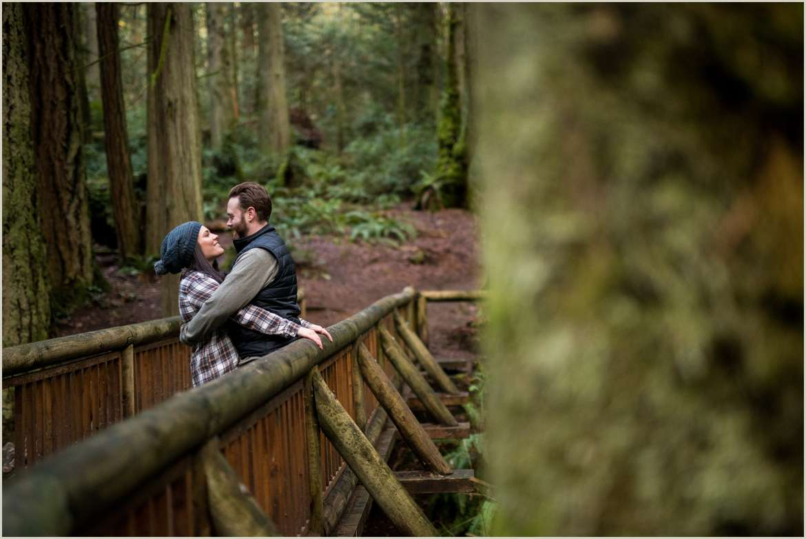 grand forest west engagement photos