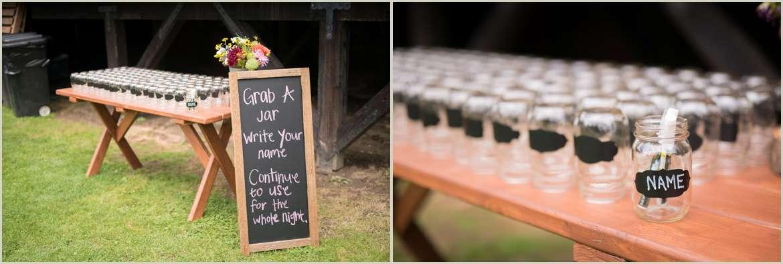 Mason Jar Wedding Favors