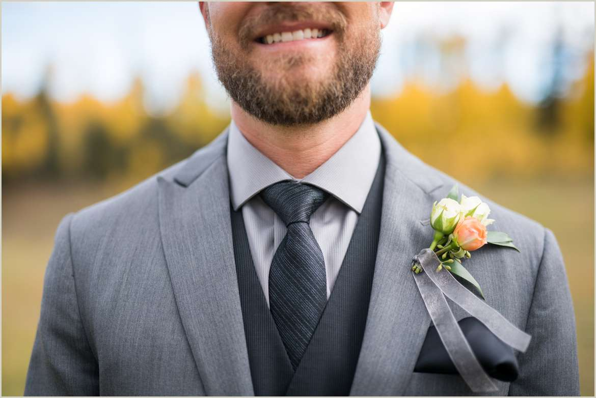 casual groom for outdoor wedding