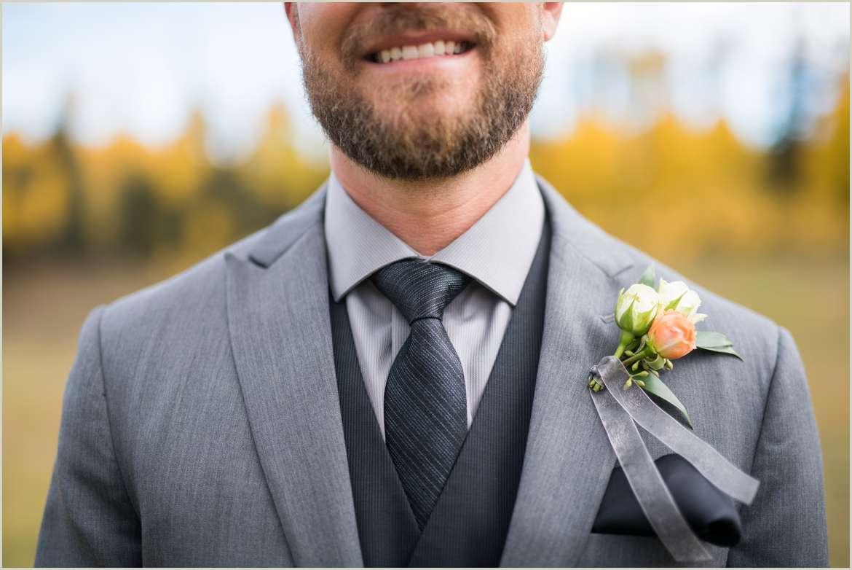 casual groom for outdoor wedding