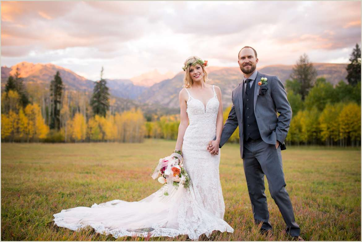 durango colorado adventurous wedding