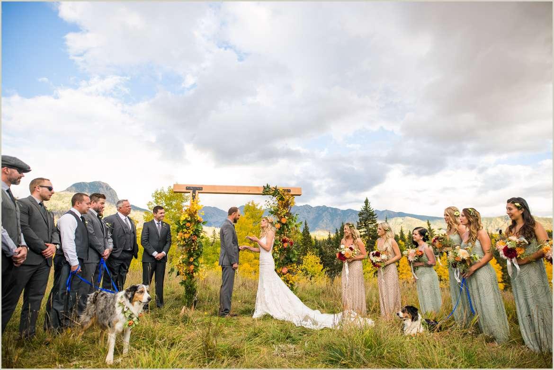 durango colorado outdoor wedding