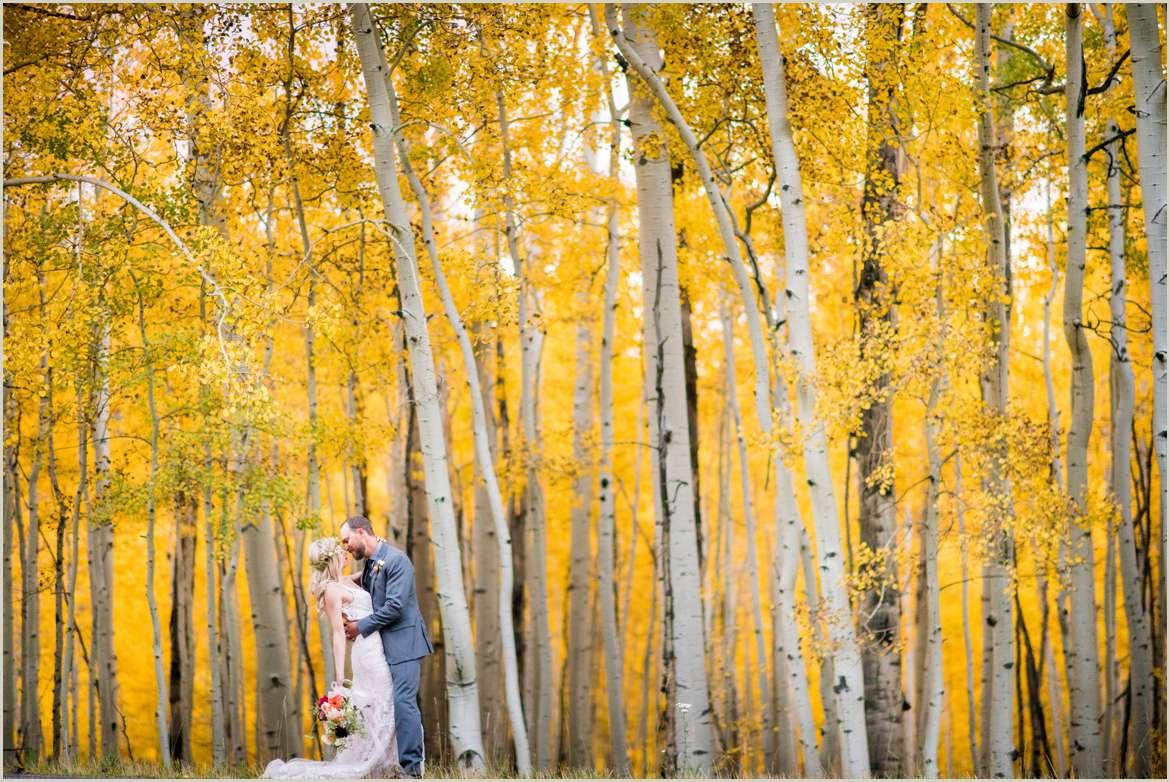gorgeous fall wedding photos