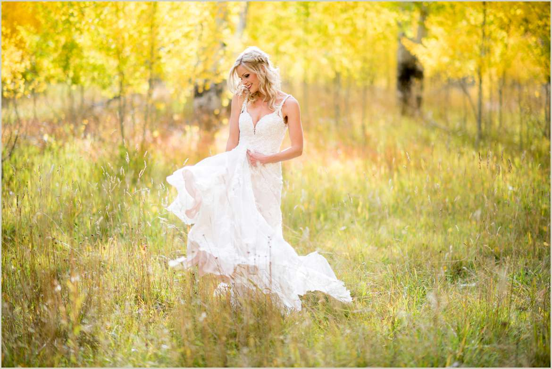 wedding durango colorado in peak fall