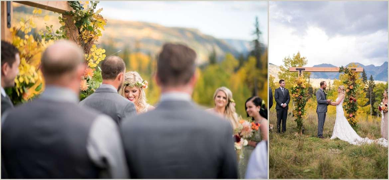 wedding in the colorado mountains
