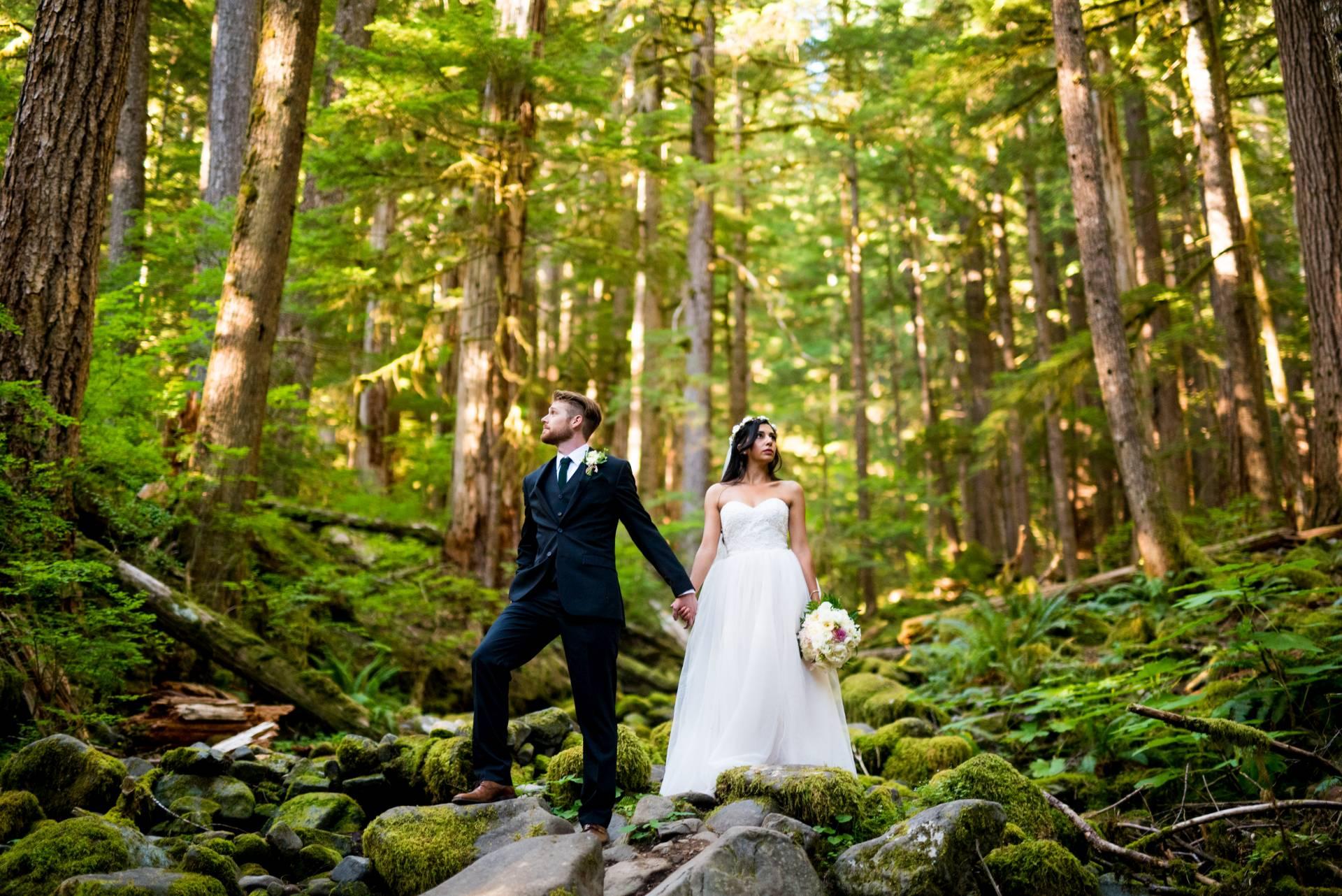 olympic national park elopement seattle wedding photographers