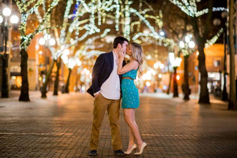 Pioneer Square Engagement Photos | Seattle Wedding Photographers