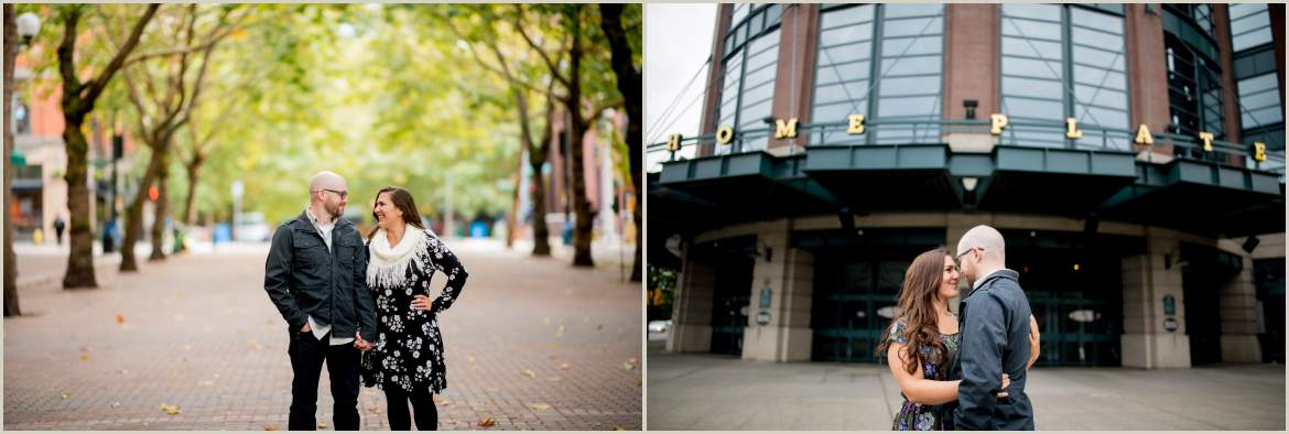 safeco field engagement photos