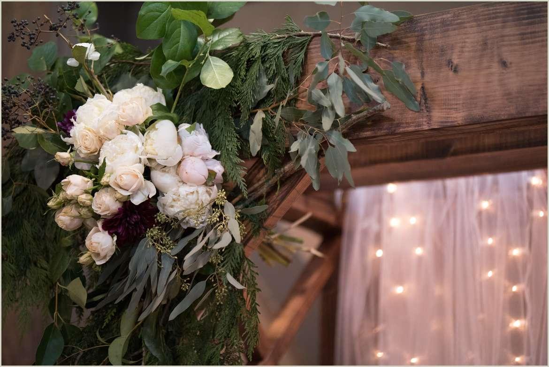 beautiful wedding arbor decorations