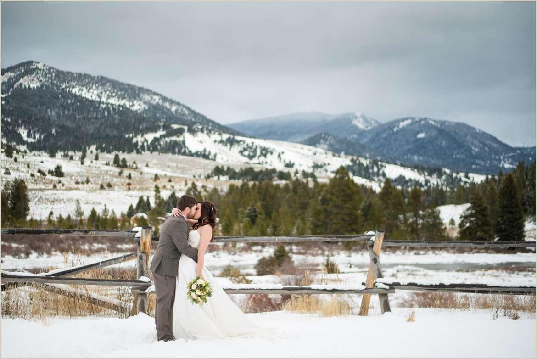 big sky montana wedding photos