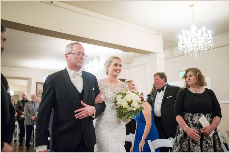 bride walking down aisle 1
