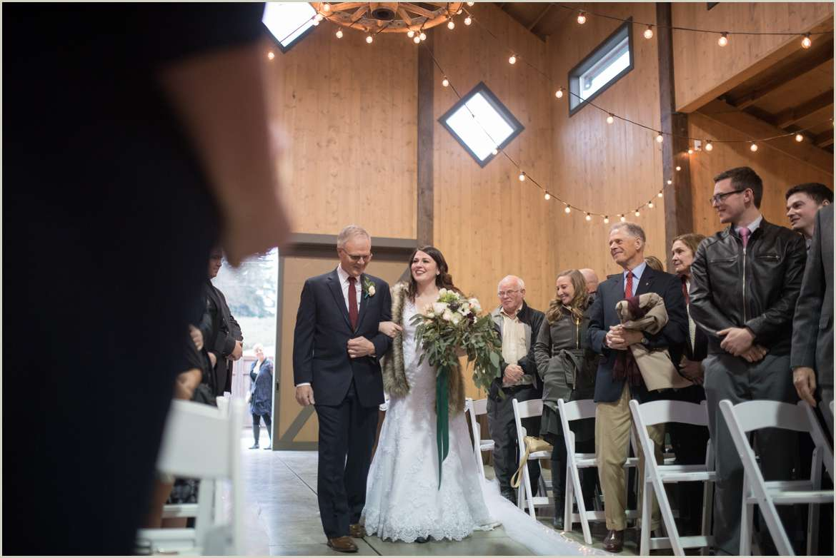 carlton farms indoor wedding ceremony