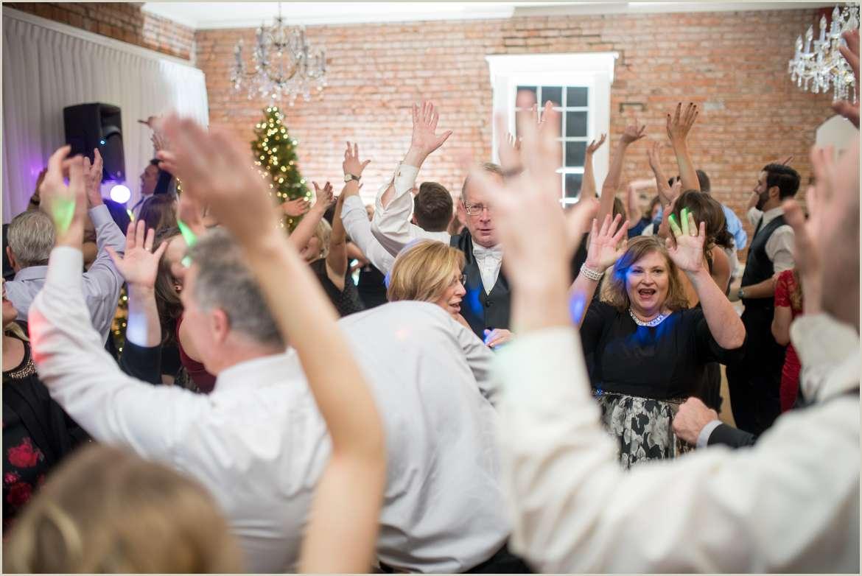 fun dance floor wedding photos 1