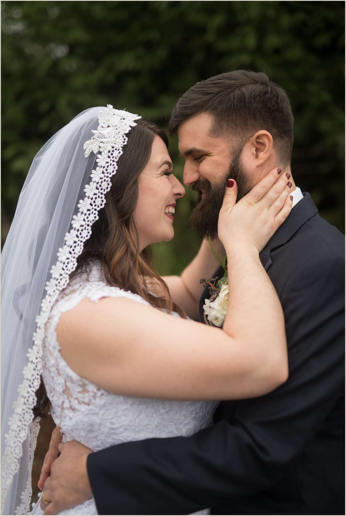 joyful wedding photos