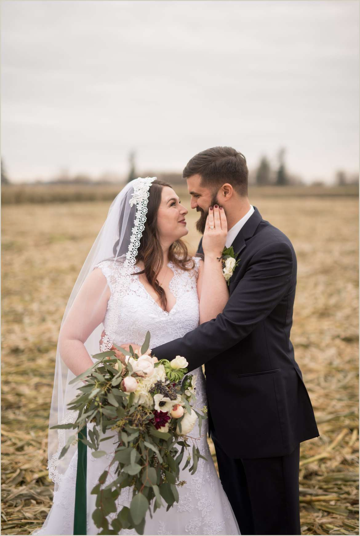 rustic wedding on a farm in snohomish