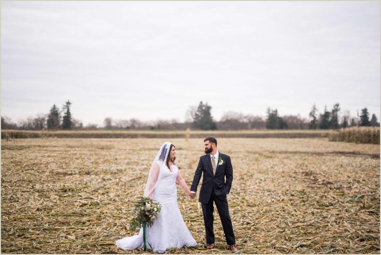 snohomish winter wedding at carlton farm