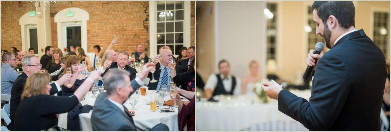 toasts at wedding reception 1