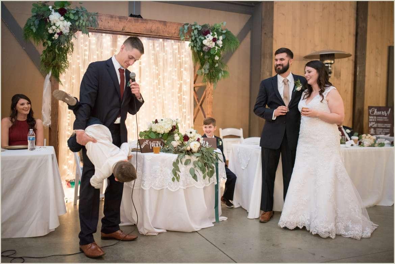 wedding reception at carlton farm