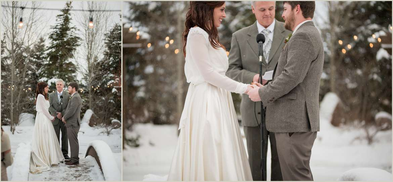 winter bucks t4 ranch wedding