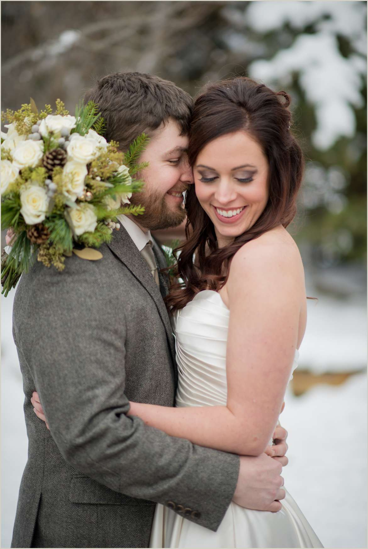 winter wedding at bucks t4 ranch